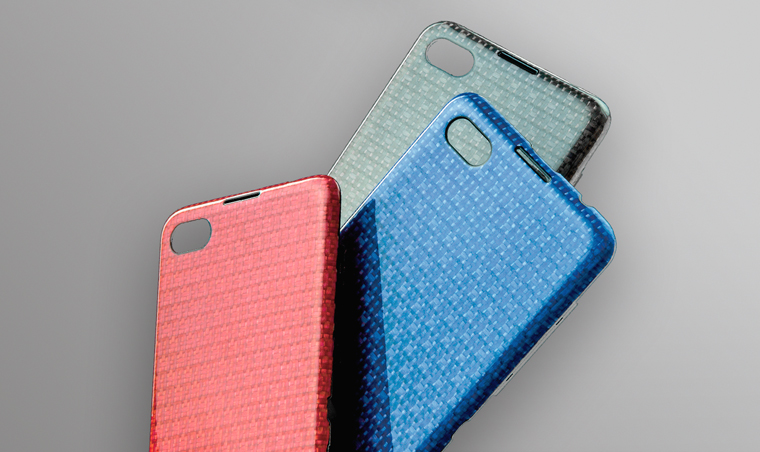 Thermoplastic composite smartphone cover